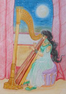desenho jasmine aladdin disney